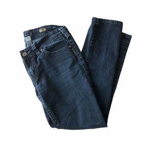 Silver Jeans Suki Skinny Dark Wash Blue 32x31
